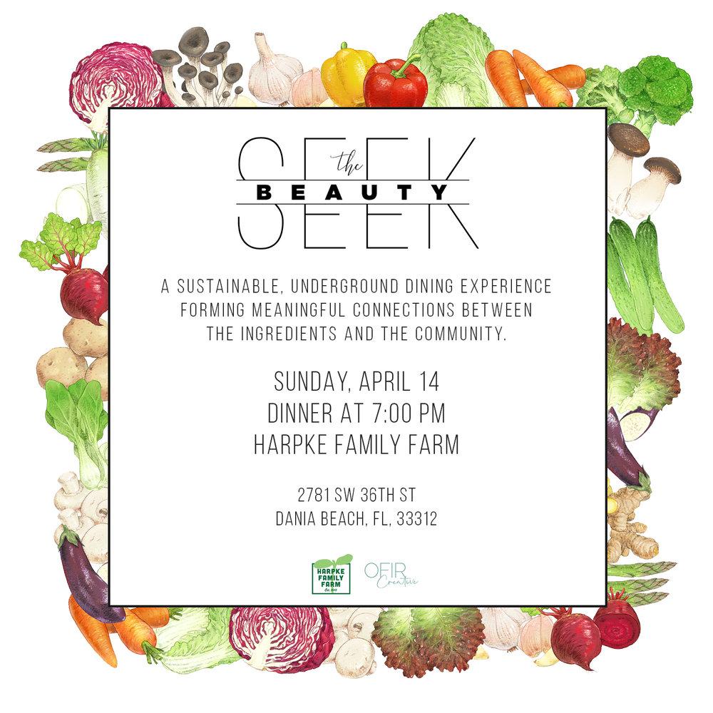 Seek The Beauty at Harpke Family Farms