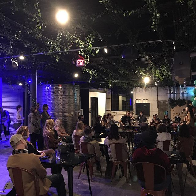 @elisabethbeckwitt packed the house tonight for the #themakersseries at @urbanwinerynashville !!