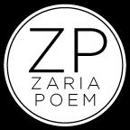 ZariaPoem.com Blog Page