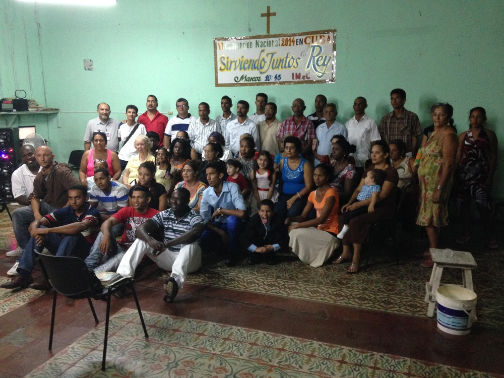Pastors and church leaders in Cuba
