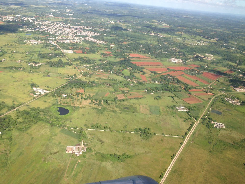 Cuba from the air