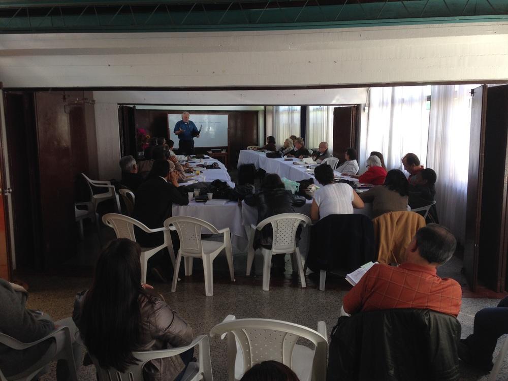Colombian Mennonite pastors and leaders