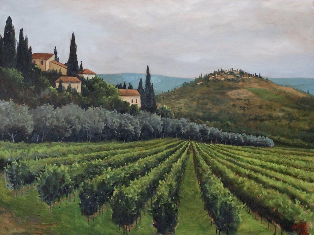 Tuscan Hilltops