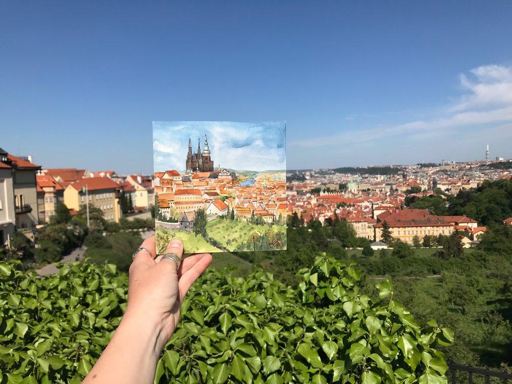 Painting In Prague