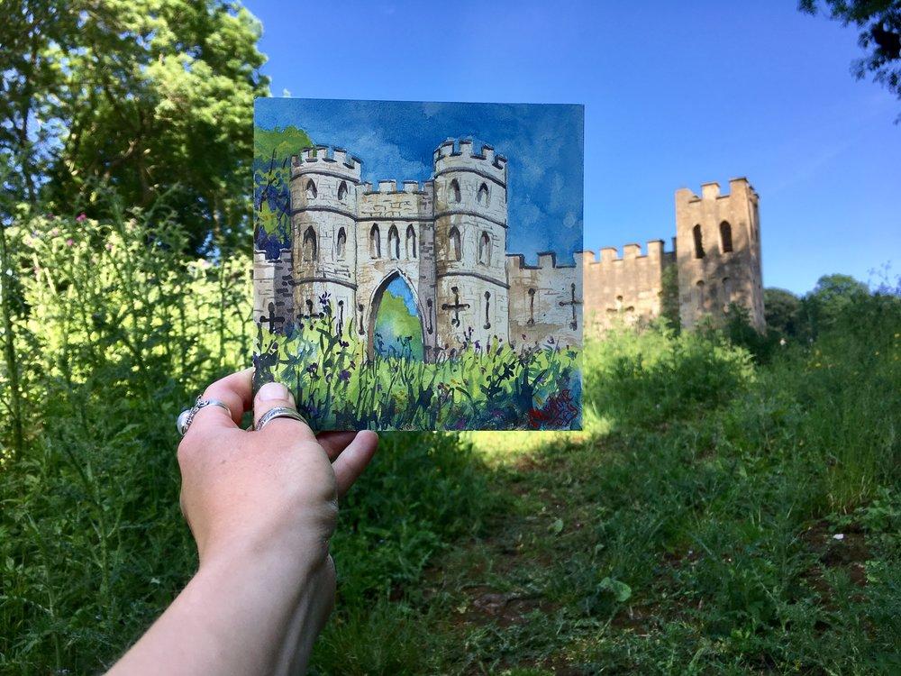 Hidden Castle in England