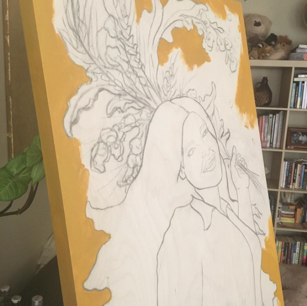 Jessica Violetta Nurture Process 1