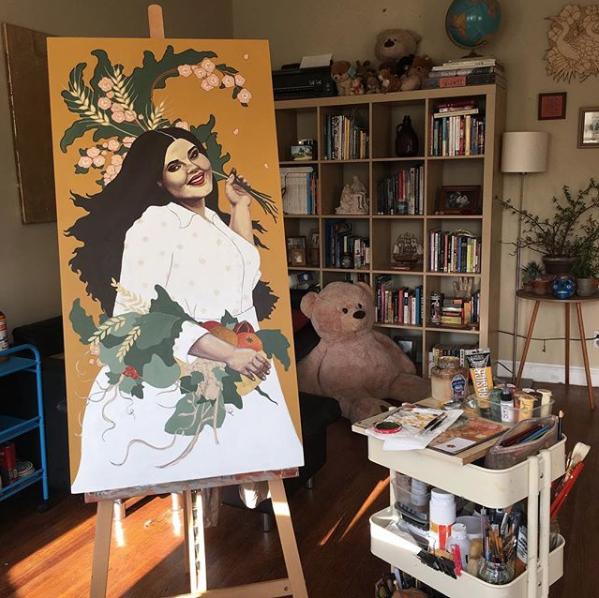 Jessica Violetta Nurture Process 3
