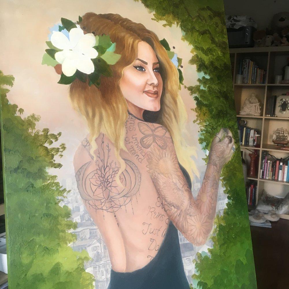 Jessica Violetta Summer Process 4