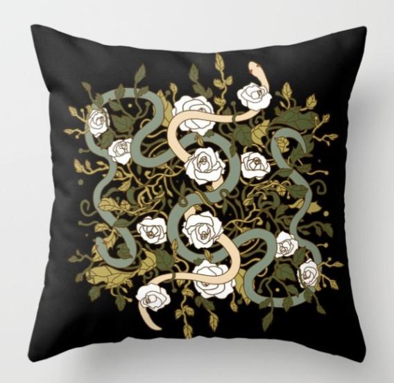 Jessica Violetta Divine Pillow