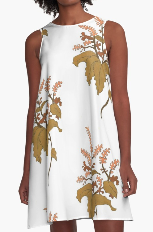 JV Floral Branch Dress