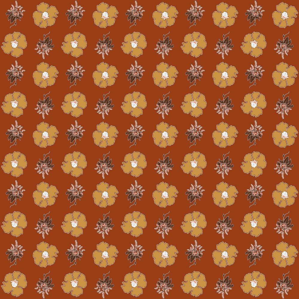 JV Floral Branch Pattern 4