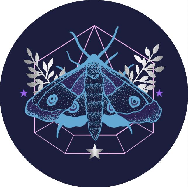 JV Popsocket Moth Cool