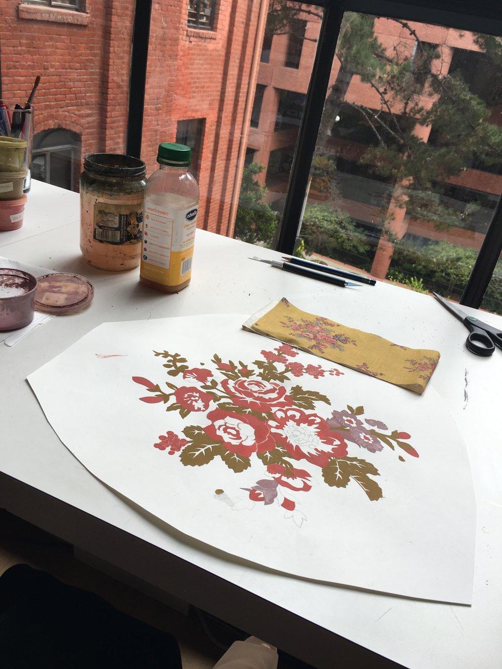 JV Ditsy Floral Process 4