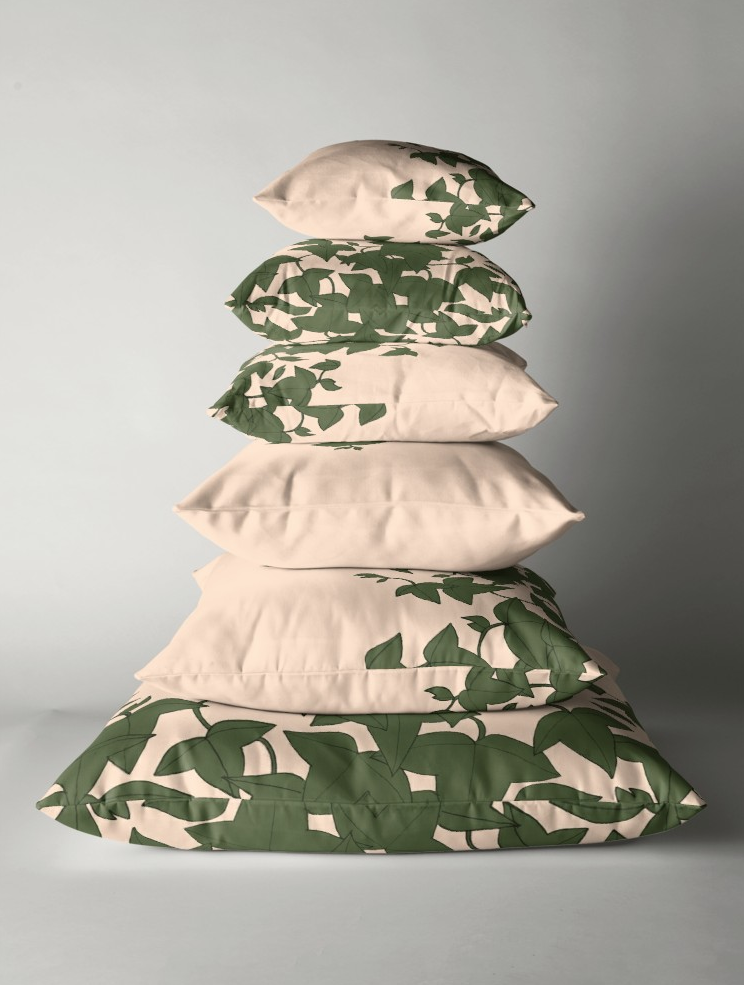 JV Ivy Pillow Stack