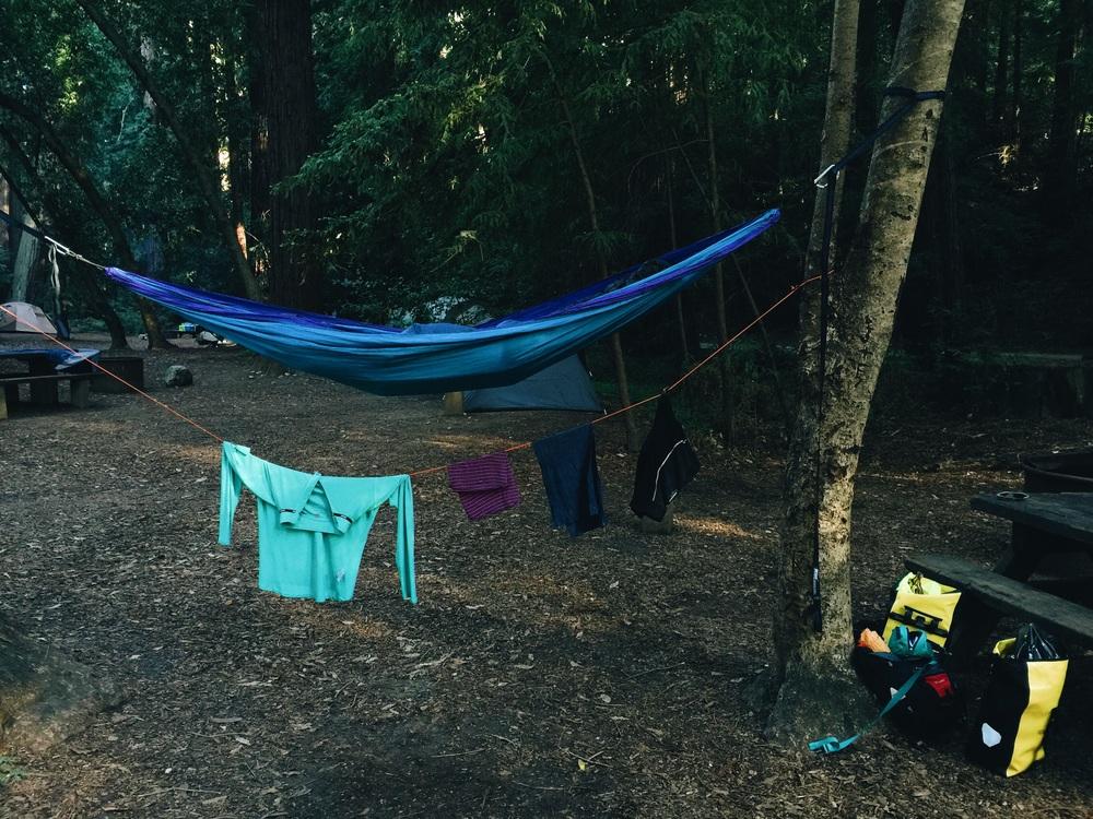 Hammock setup