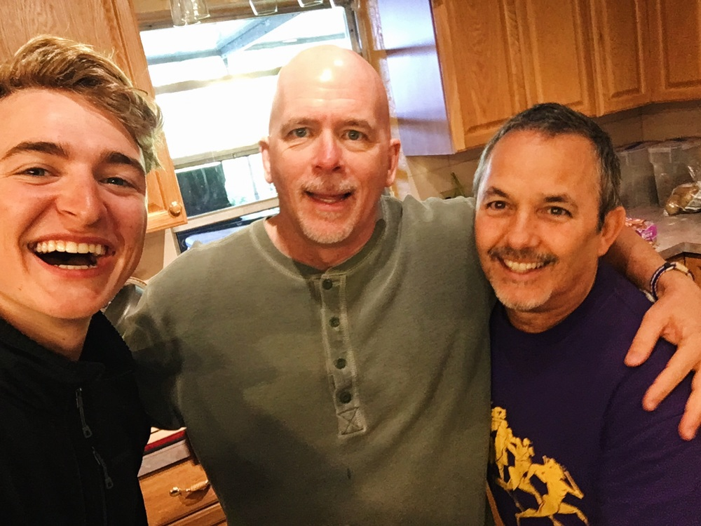 Staying a few days with Dave and Leo in  Hollywood. I cleaned their house as a work trade for shelter from the storm, although they were extremely accommodating and insisted that I didn't need to...