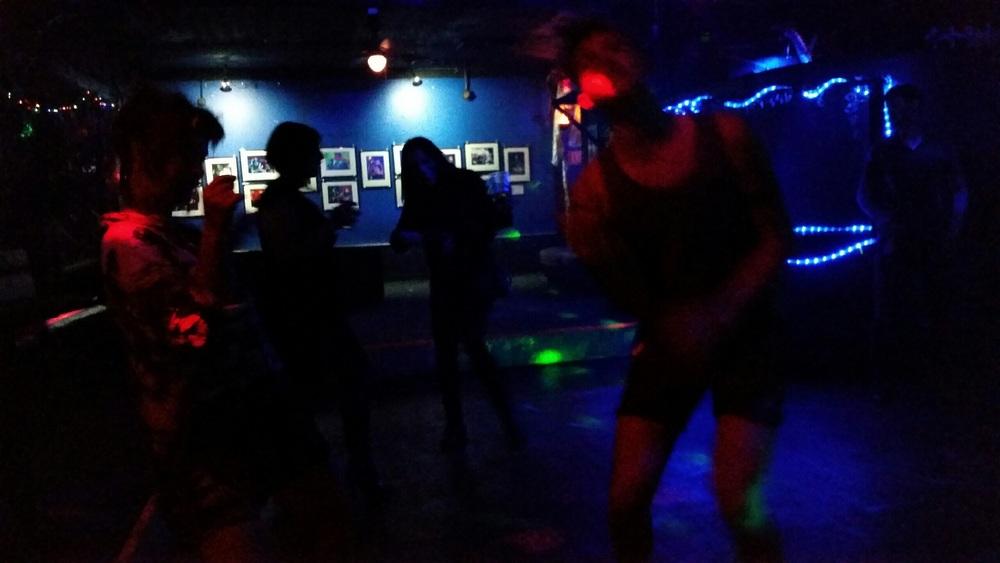 Dancing the night away...