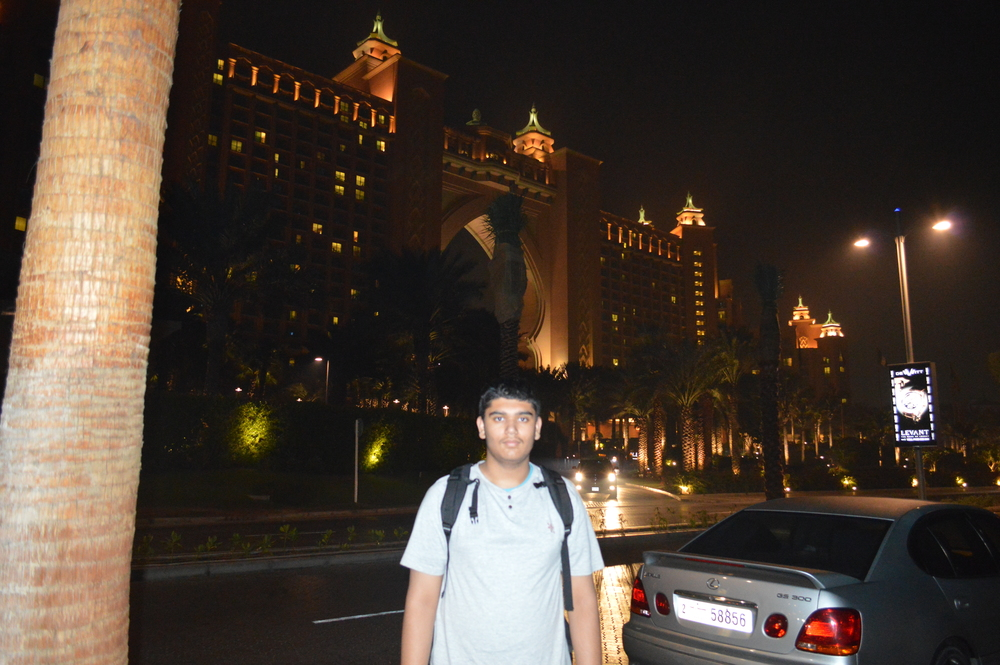At Atlantis Hotel Dubai