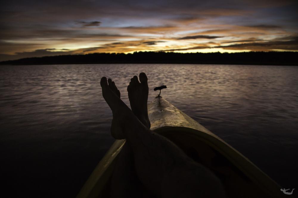 Sunset on The Narrow River.jpg