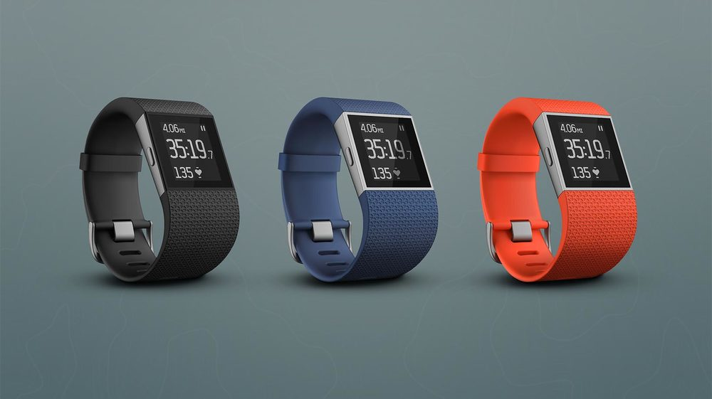 Fitbit | Surge   Maximize training, maintain intensity and monitor calorie burn with automatic wrist-based heart rate monitoring.   With continuous heart rate readings,  Surge  keeps you in the zone .   Fitbit Website