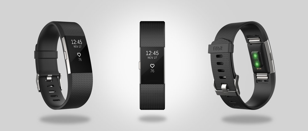 Fitbit | Charge 2  Make every beat count with Fitbit Charge 2, the all new heart rate and fitness wristband built for all-day, workouts and beyond. With more advanced features in a sleeker package, it's motivation you need to push yourself further every step, every beat, everyday.   Fitbit Website