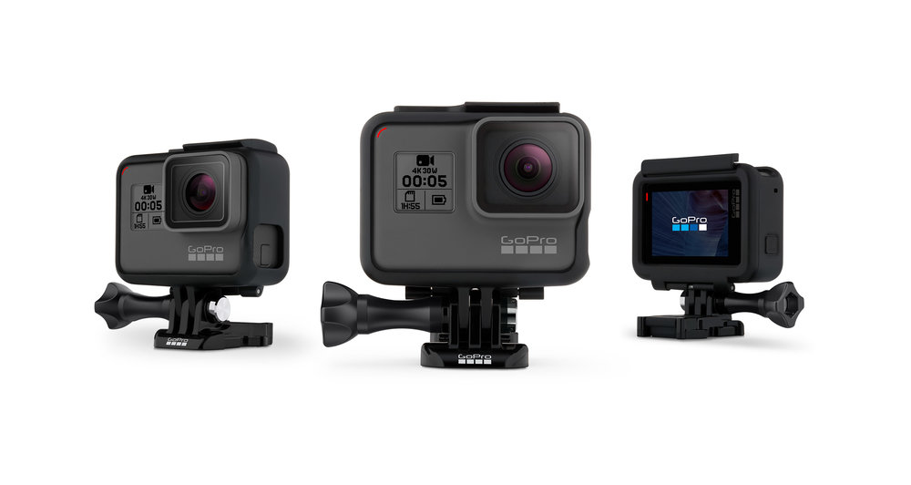 GoPro | Hero 5  The most powerful and easy to use GoPro ever, thanks to its 4K video, voice control, one-button simplicity, touch display and waterproof design.   GoPro Website