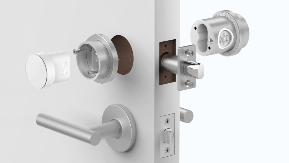 Otto | The world's most advanced digital lock  This smart lock aims at creating a new user experience through elegant design and effortless integration. Otto has a sophisticated gearing system that is carefully crafted to deliver a secure lock with a simple, intuitive interaction.