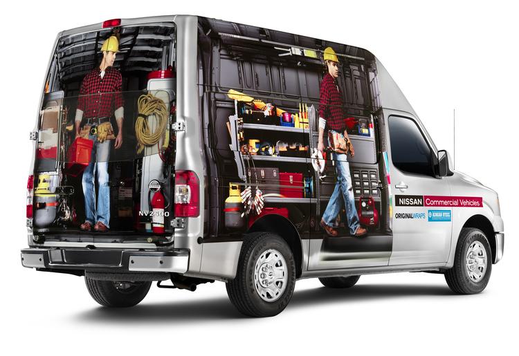 Nissan Commercial Vehicles ALEX HAGLUND ART DIRECTOR