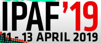 Copenhagen: April 11 - 13, 2019