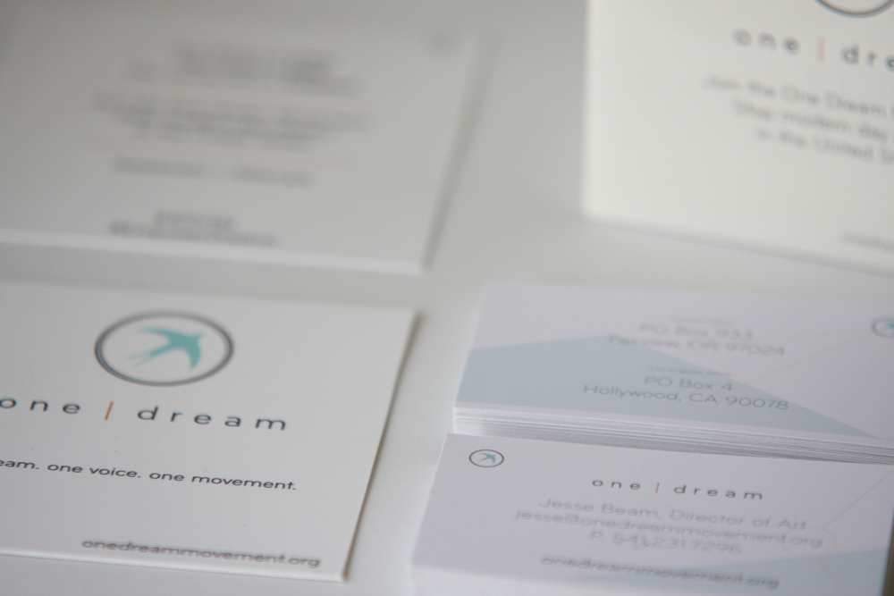Logo design, business card layout and design, hand out design, booklet design for a local non-profit organization.