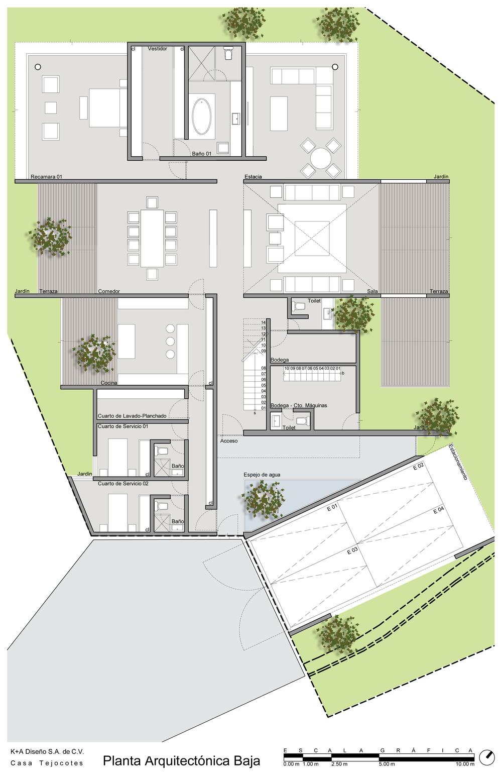 Tejocotes edurne turcott arquitecta - Plantas para habitacion ...