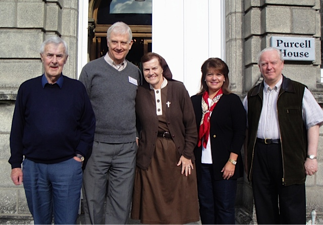 Kathleen spoke with Sr. Briege McKenna at the Intercession for Priests Retreat, Ireland