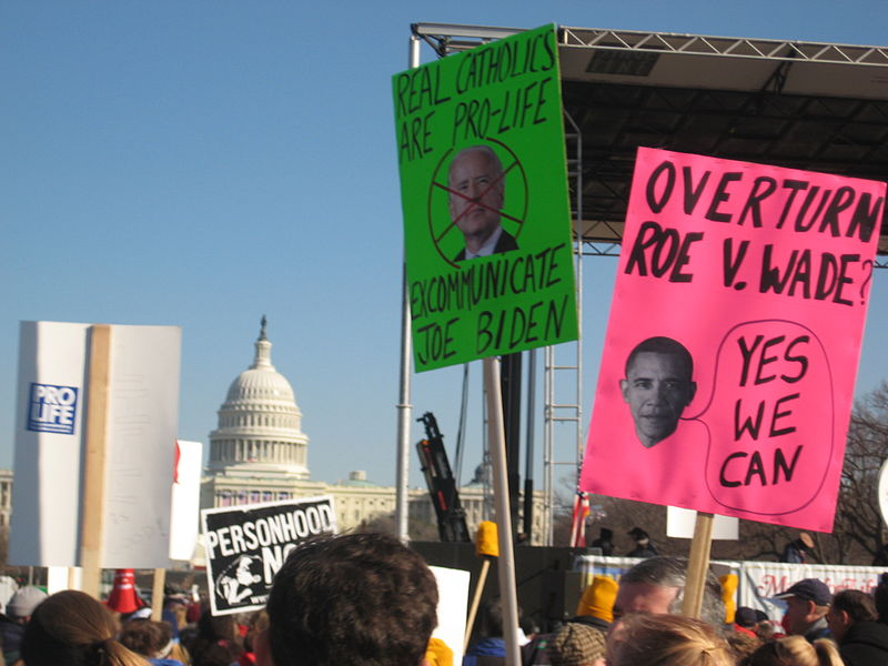 2009 March For Life in Washington, DC, photo by John Stephen Dwyer