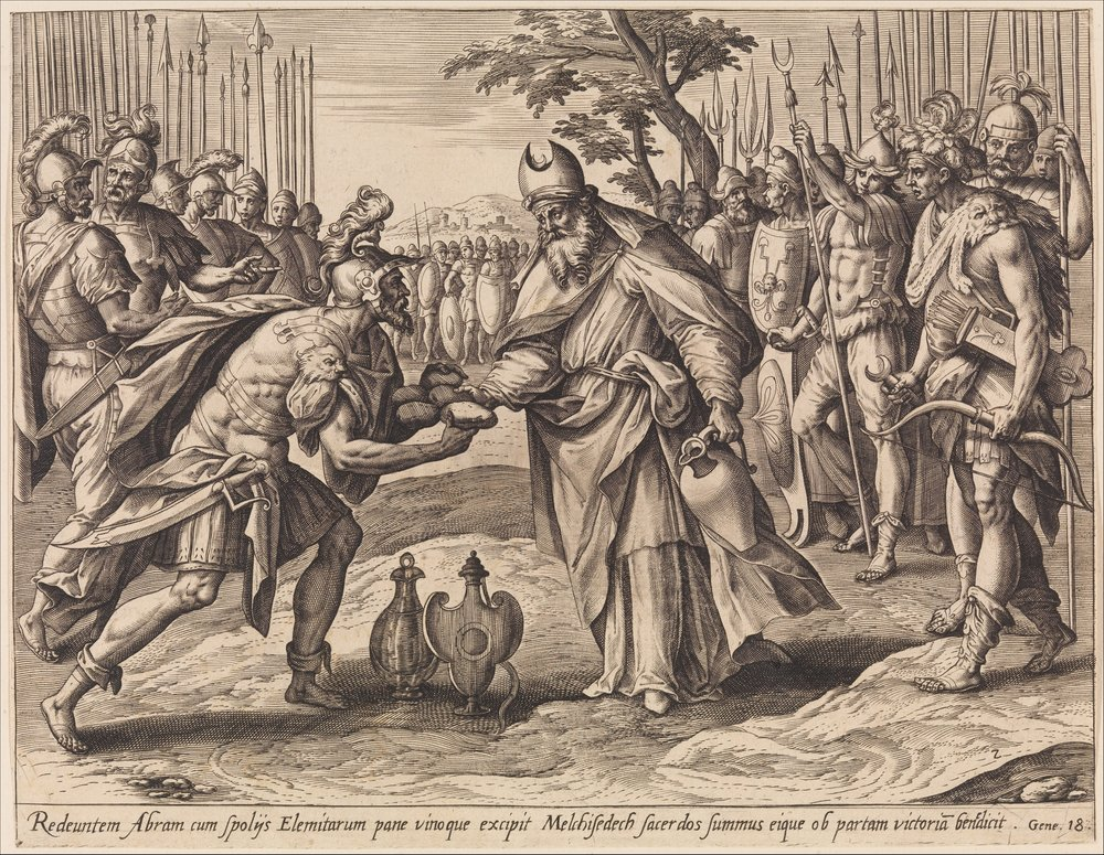 The Meeting of Abraham and Melchizedek, from The Story of Abraham