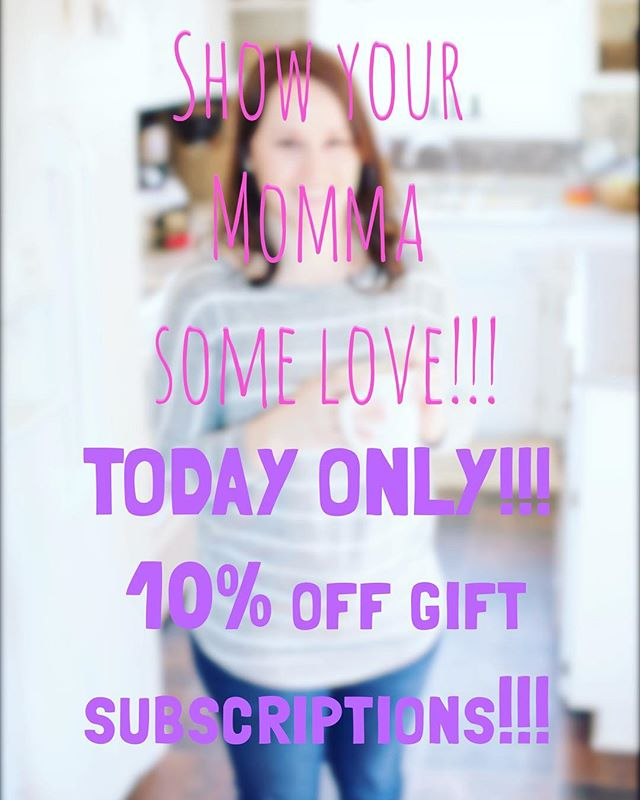 "The day before Mother's Day and you still need a perfect gift to show your momma (or baby's momma) how much you love her?!? No prob! Use the code ""mommyday10"" and hook her up with a gift that keeps giving all year 'round!!! A fresh, small batch roasted bag of coffee beans from around the US will give her the fuel and joy to do what she does so well!! Link is in profile! #mothersdaysale #mothersday #stilltime #subscriptionsale #subscriptionaddiction #subscription #giftideas #justright #10%off #coffeegram #coffeelover #mom #mommy #momma #moma #mamãe #lastminutegifts #itsnottoolate #momslovecoffee #mycoffeepub"
