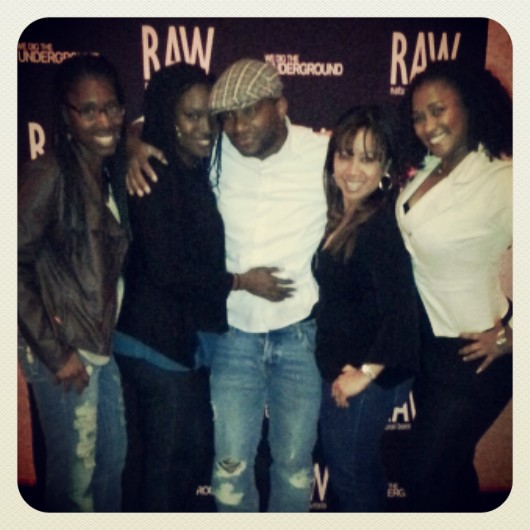 My love, myself & friends at my first RAW:Artists showcase. Raw is an incredible organization & network for independent artists by artists of which I am thrilled to be a part of. www.rawartists.org
