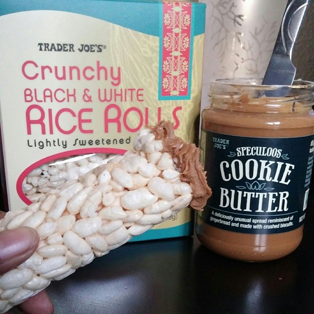 Sooo Addicting!!!!! I'm hooked & very happy! 😍 #dessert #food #cookies #traderjoes  #yum #yummy #amazing #instagood #instafood #sweet #chocolate #cake #icecream #delish #foods #delicious #tasty #eat #eating #hungry #foodpics #sweettooth #ricecakes