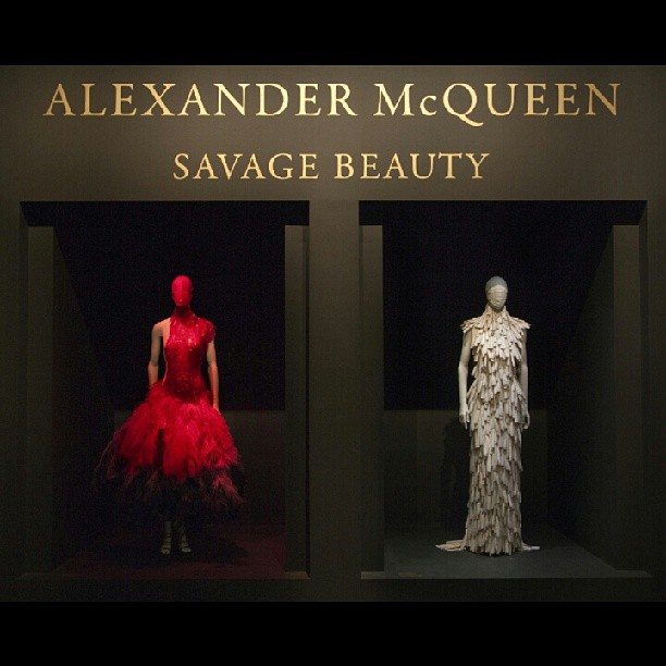 The essence of fashion savagely stated…….#alexandermcqueen #designer #vogue #nyamanidesigns