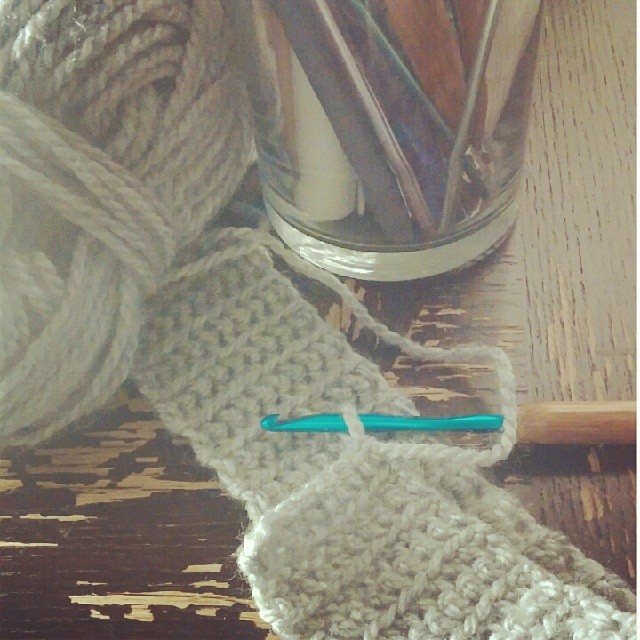 Sometimes, it's about yarn.......Crocheted Slouchy Hat in progress……To be continued, stay tuned!