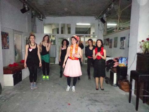 Junggesellinnenabschied Party 2014