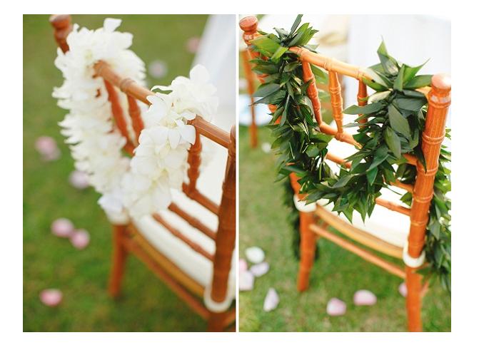 BeispielDamen und Herren Leis. Foto courtesy and property of: Modern Weddings Hawaii.