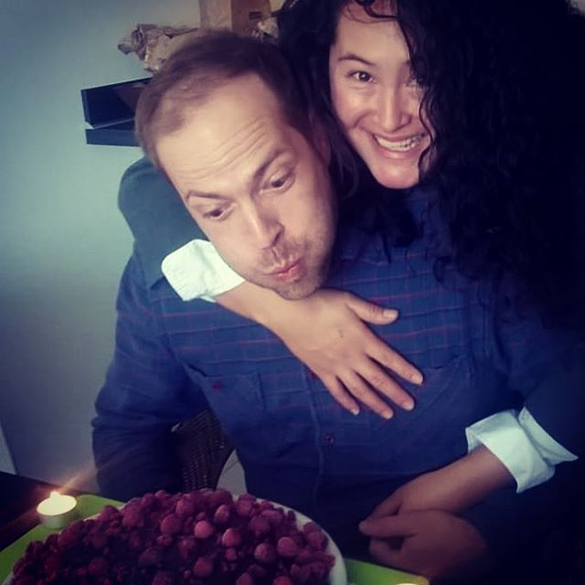 ...and someone was waaay to excited to blow out those candles and get some cake 🎂😊🍾 getting caught up on tasks after an extended weekend of family, friends and celebration 🎉🌷☀️😋 #birthdayboy