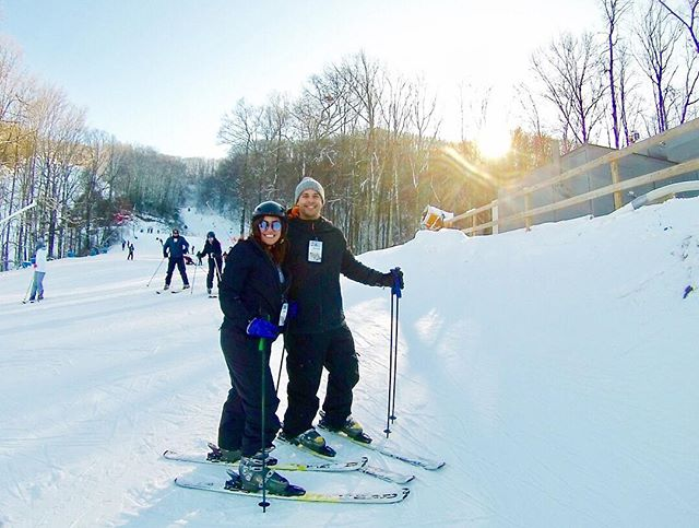 Started off the year by hitting the slopes with bae.