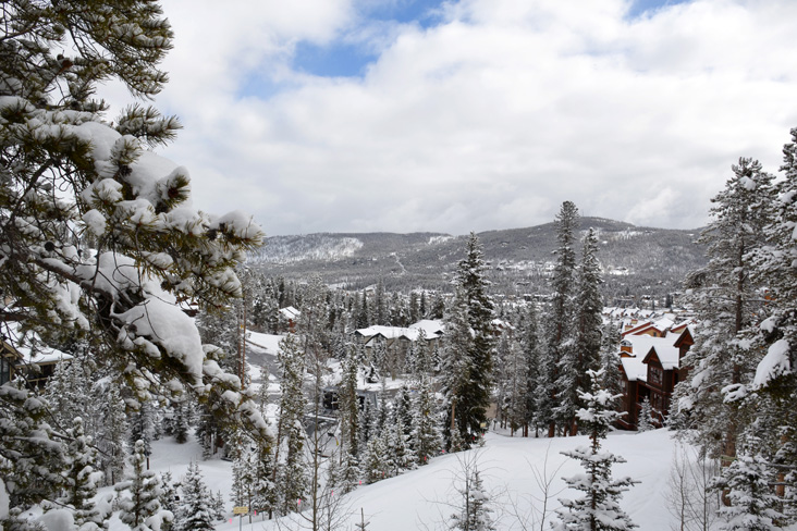 View Over Snowflake Run