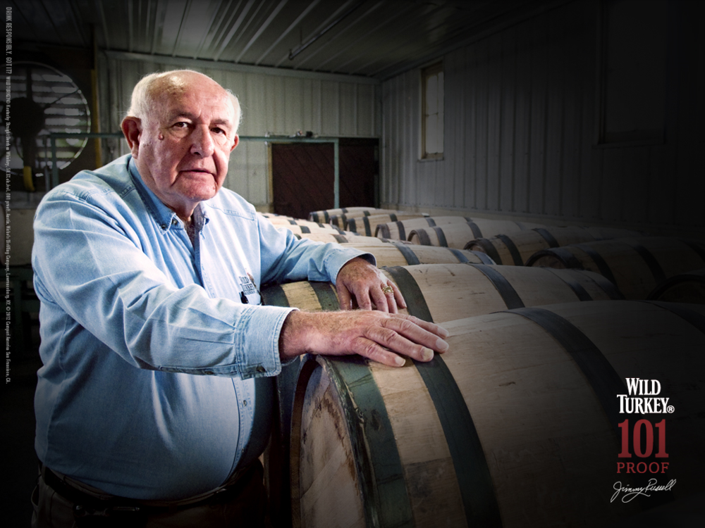Wild Turkey's master distiller Jimmy Russell. Photo courtesy Wild Turkey.