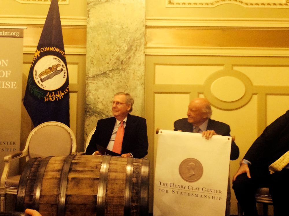McConnell and the barrel