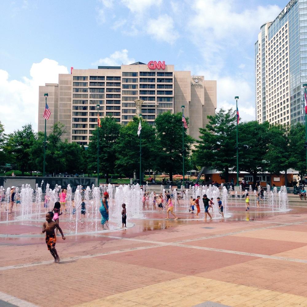 Centennial Olympic Park, Atlanta, GA