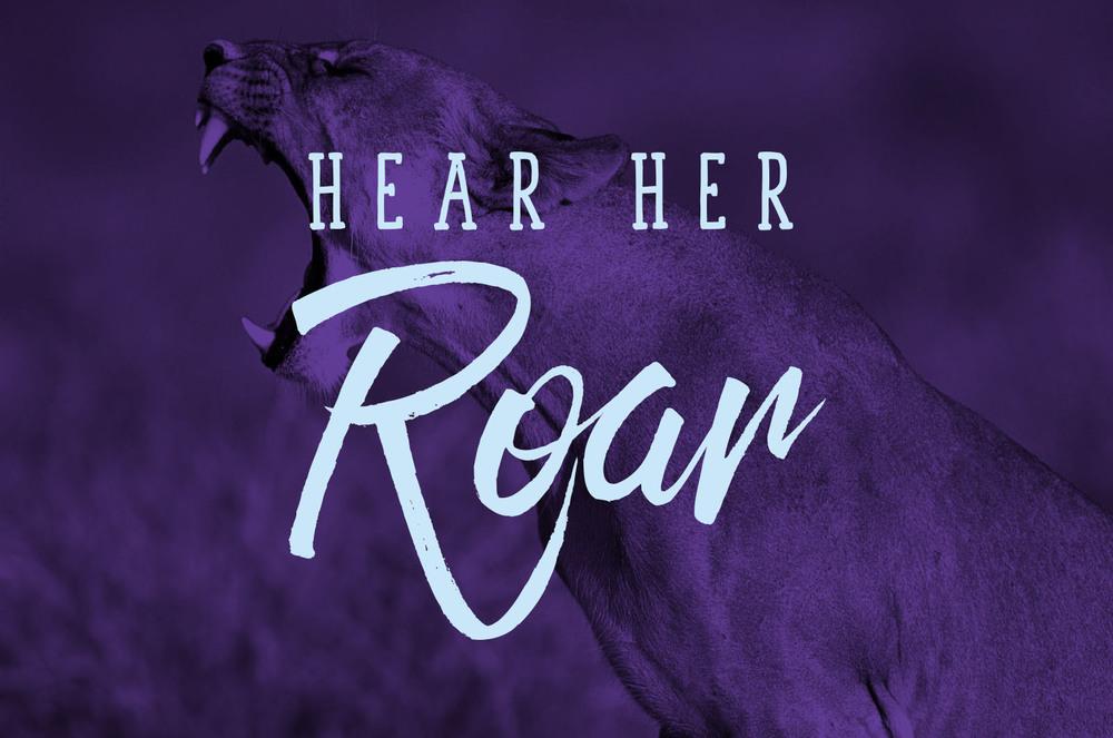 Hear Her Roar Brand Identity