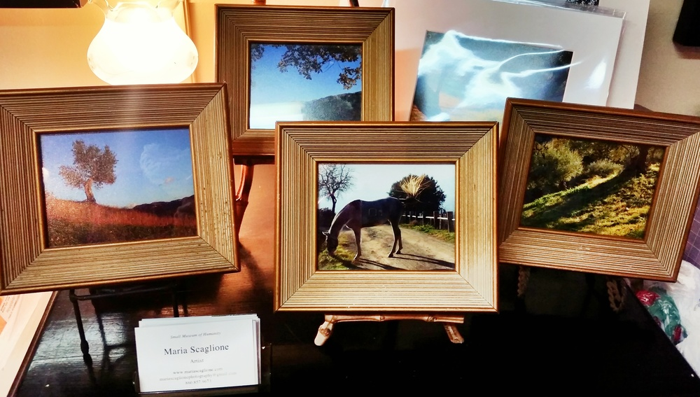 A few small photographs for sale by Maria Scaglione