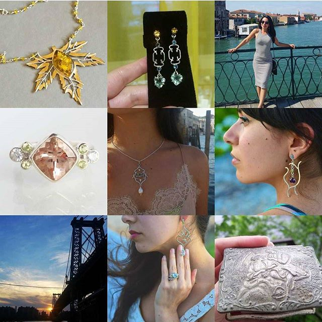 Happy NYE!!🎉🎆 Best 9! I'll be starting New Years Day with the last💍of 2017 & heads up, she's a STUNNER.💎💍💎😍😍😍❤ . . . #LivandLov #customjewelry #handcraftedjewelry #bestnine #newyearseve